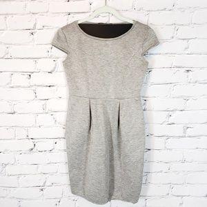 Weekend MaxMara Gray Shortsleeve Dress